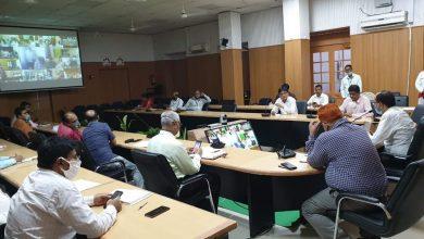 Photo of जिलाधिकारी मुजफ्फरपुर डॉ०चंद्रशेखर सिंह की अध्यक्षता में प्रखंड /पंचायत स्तरीय बैठक |